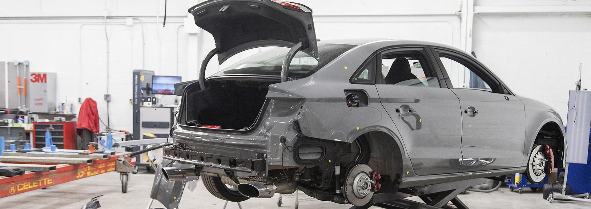 audi authorized collision repair centre